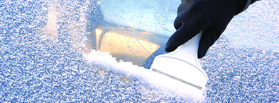 Scraping Ice Off Windshield | PrepWise Winter
