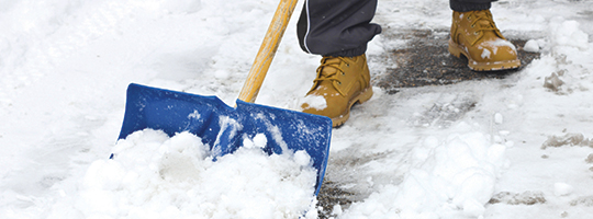 Shoveling Snow | PrepWise Winter